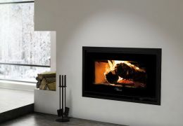 Valcourt Mundo Wood Fireplace