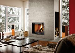 Valcourt Wood Fireplace FP7LM Antoinette