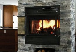 Valcourt Westmount Wood Fireplace