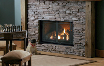 Marquis gas modern fireplace