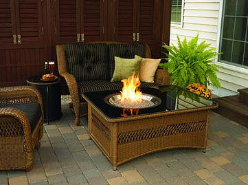 Fire table - outdoor living Peterborough