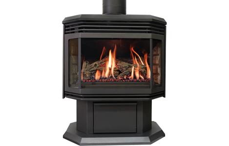 Archgard Optima 45 Advantages Of A Freestanding Gas Fireplace The Original