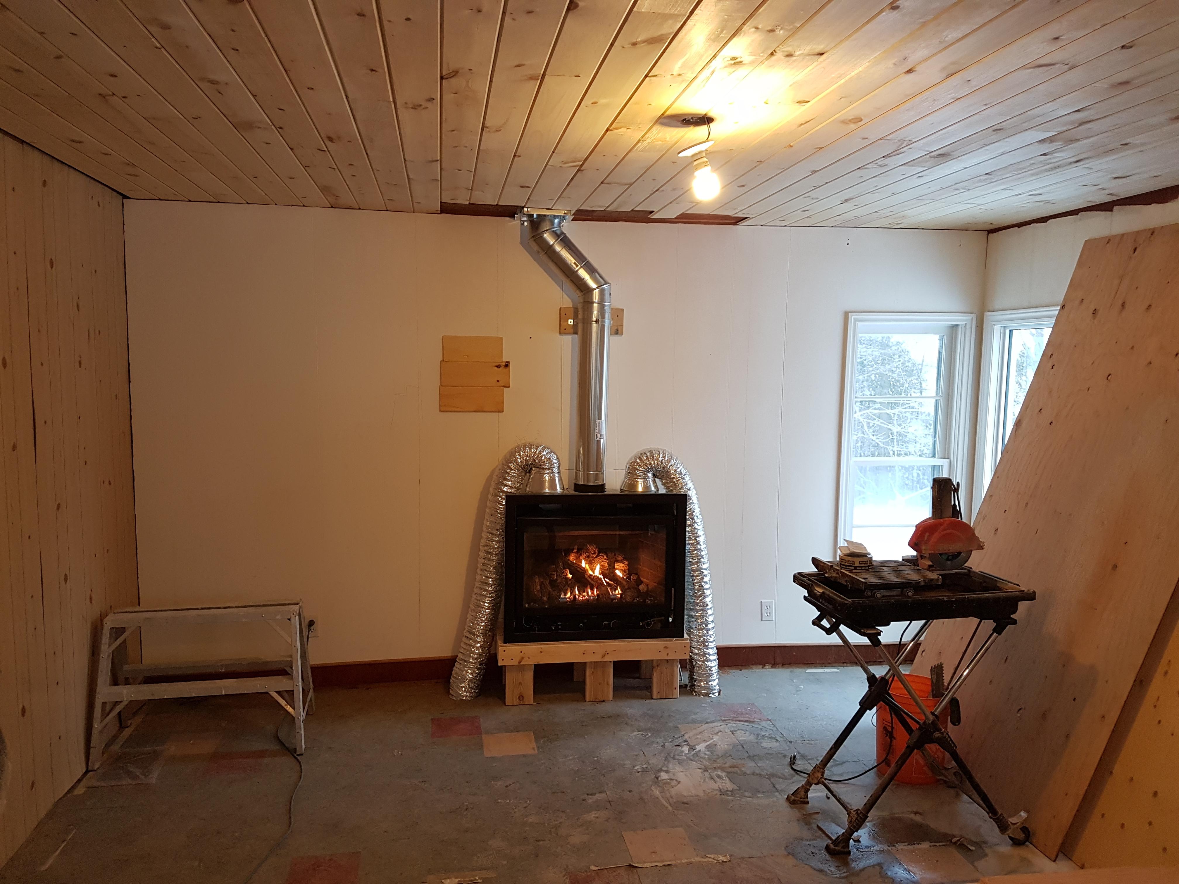 Super My Mendota Gas Fireplace Renovation Part 2 The Original Download Free Architecture Designs Momecebritishbridgeorg