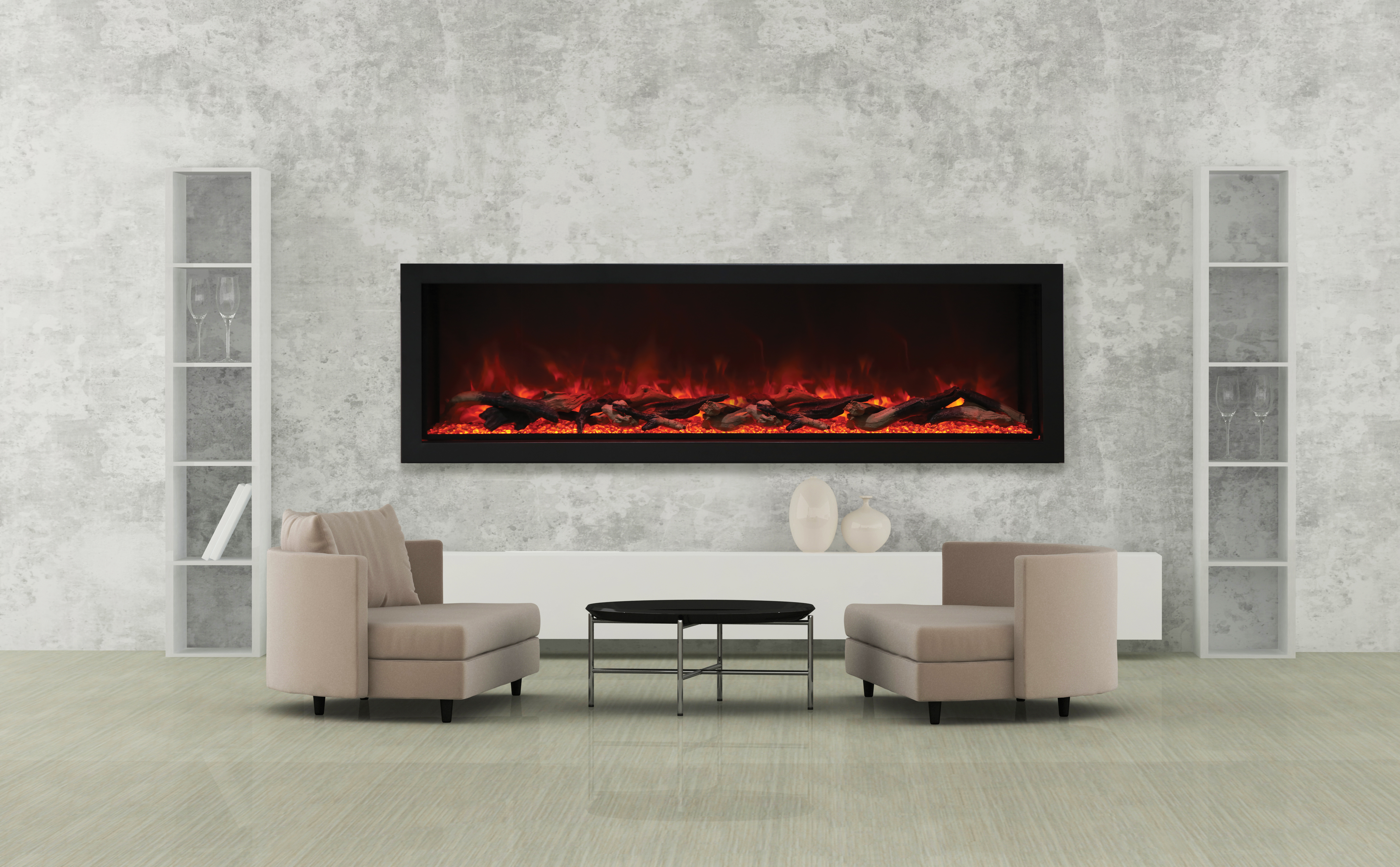 Electric fireplace Deep XT