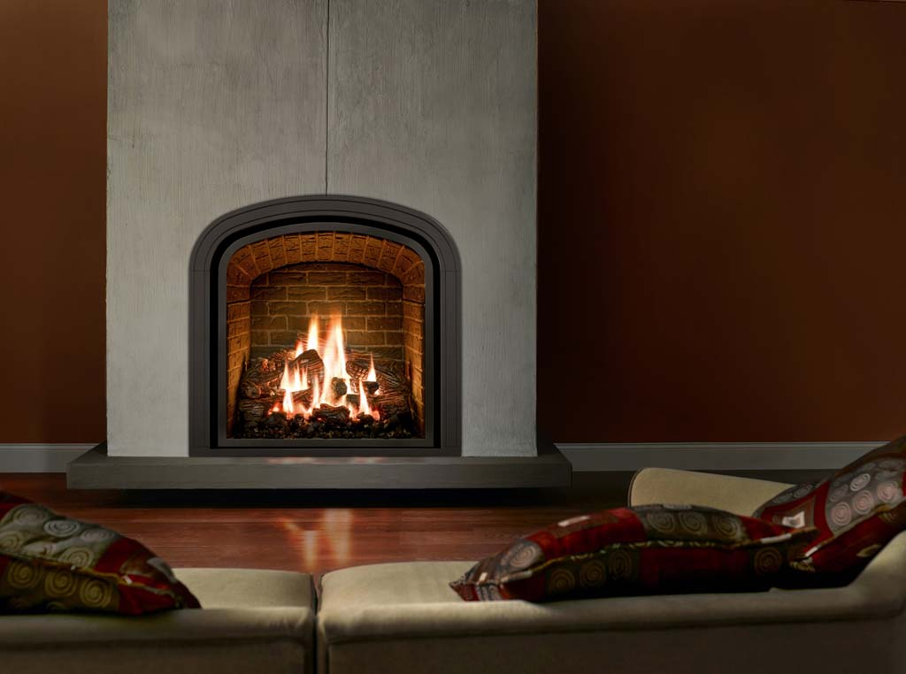Gas fireplace Greenbriar