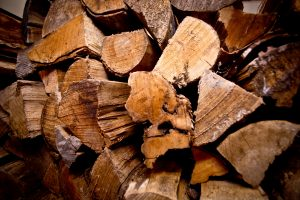 seasoned wood for wood-burning stove